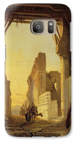 The Gates Of El Geber In Morocco Galaxy S7 Case by Francois Antoine Bossuet