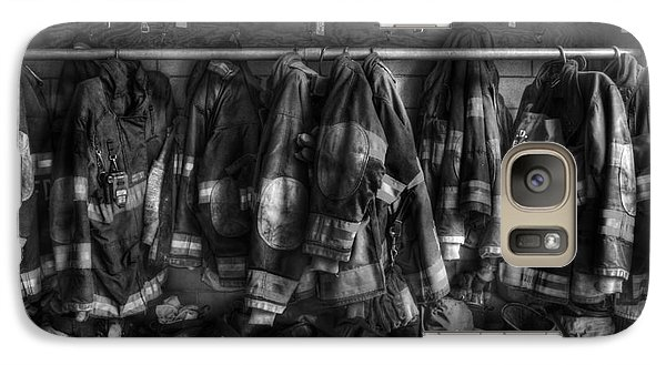 The Gear Of Heroes - Firemen - Fire Station Galaxy S7 Case