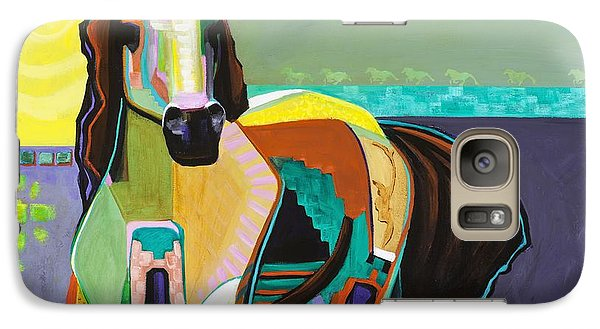 Galaxy Case featuring the painting The Gift by Frances Marino