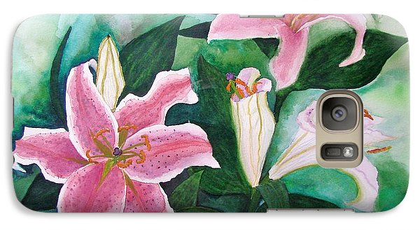 Galaxy Case featuring the painting The Gift by Margaret Bobb