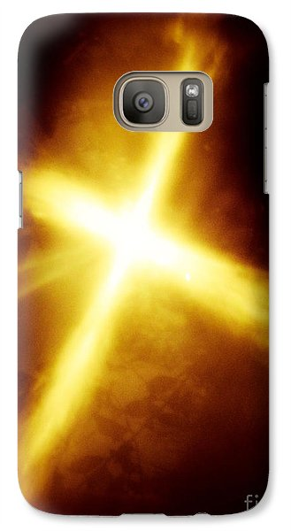 Galaxy Case featuring the photograph The Gift by Robin Coaker