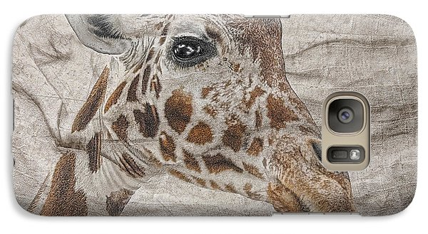 Galaxy Case featuring the photograph The Giraffe  by Dyle   Warren