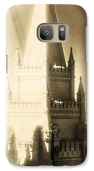 Galaxy Case featuring the photograph The Glory Of The Lord Shone Round About by Greg Collins