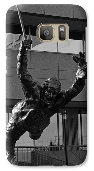 Galaxy Case featuring the photograph The Goal by Mike Martin
