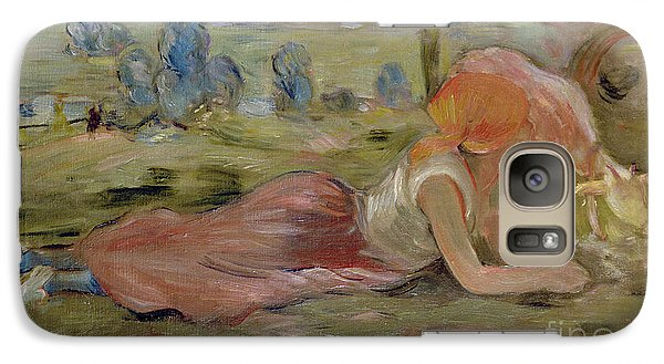 The Goatherd Galaxy Case by Berthe Morisot