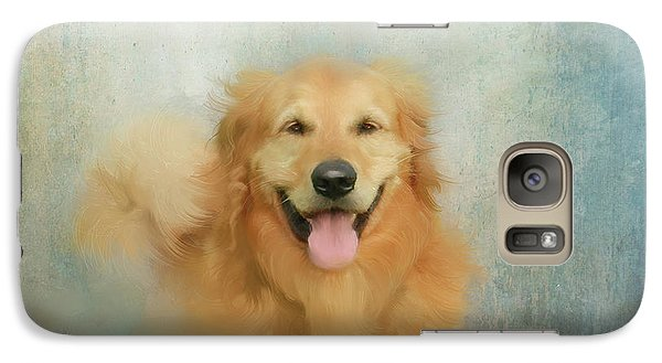 Galaxy Case featuring the mixed media The Golden by Colleen Taylor