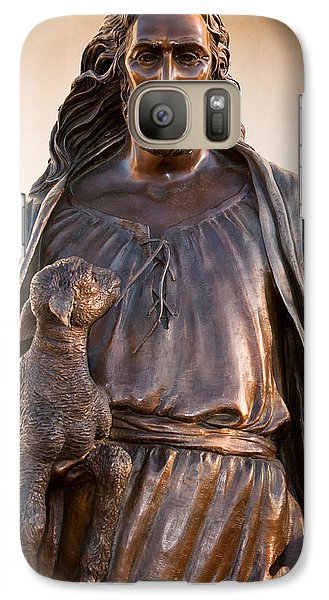 Galaxy Case featuring the photograph The Good Shepard by Monte Stevens