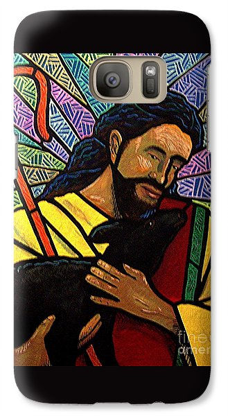 Galaxy Case featuring the painting The Good Shepherd - Practice Painting One by Jim Harris