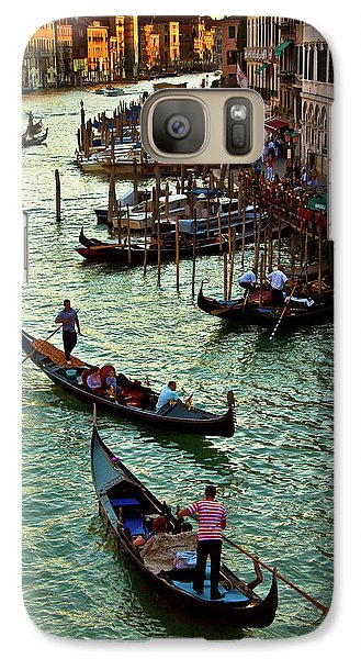 Galaxy Case featuring the photograph The Grand Canal Venice by Harry Spitz