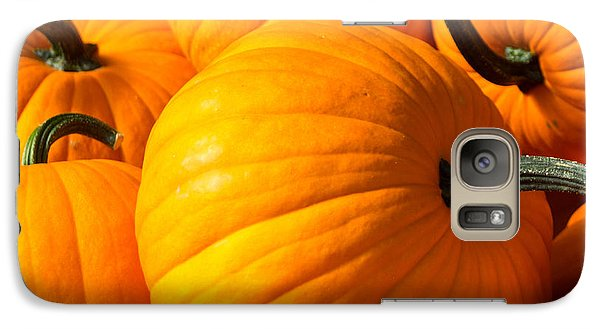 Galaxy Case featuring the photograph The Great Pumpkin by Dick Botkin