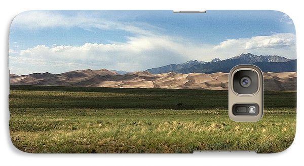 Galaxy Case featuring the photograph The Great Sand Dunes by Christin Brodie