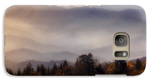 Galaxy Case featuring the photograph The Great Smoky Mountains by Ellen Heaverlo