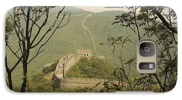 Galaxy Case featuring the photograph The Great Wall by R Thomas Berner