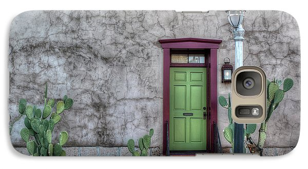 The Green Door Galaxy S7 Case by Lynn Geoffroy