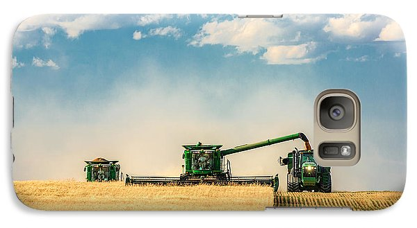 Rural Scenes Galaxy S7 Case - The Green Machines by Todd Klassy