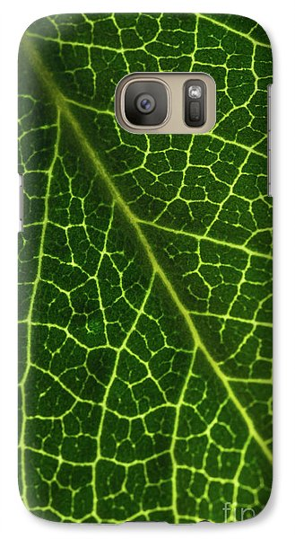 Galaxy S7 Case featuring the photograph The Green Network by Ana V Ramirez