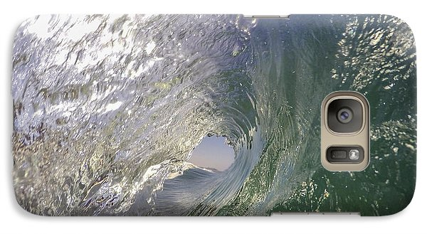 Galaxy Case featuring the photograph The Green Room by Sean Foster