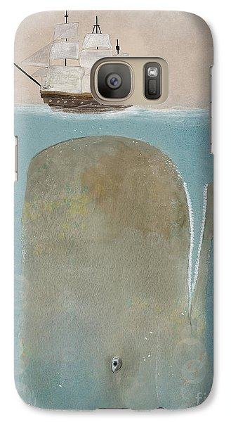 Galaxy Case featuring the painting The Grey Whale by Bri B