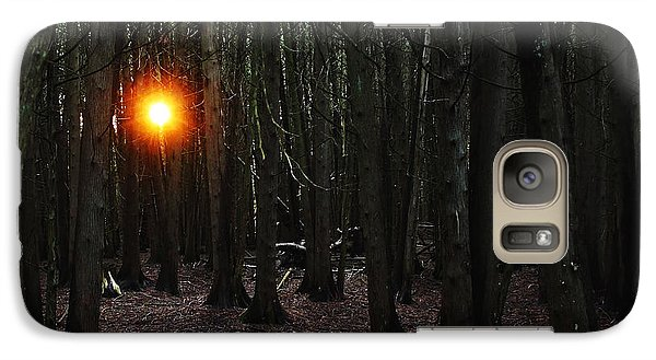 Galaxy Case featuring the photograph The Guiding Light by Debbie Oppermann