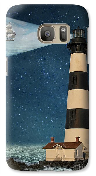 Galaxy Case featuring the photograph The Guiding Light by Juli Scalzi