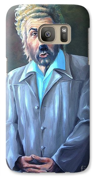 Galaxy Case featuring the painting The Gunther by Diane Daigle