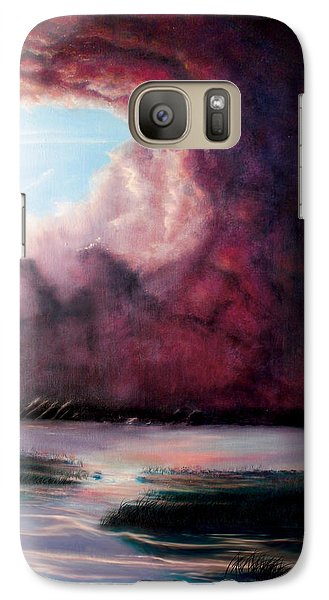 Galaxy Case featuring the painting The Hansbach by Albert Puskaric