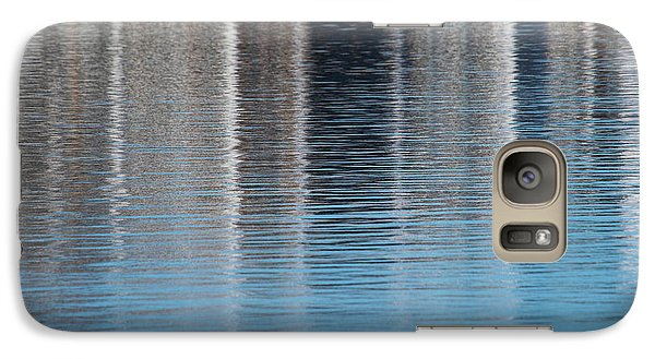 Galaxy Case featuring the photograph The Harbor Reflects by Karol Livote