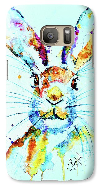 Galaxy Case featuring the painting The Hare by Steven Ponsford