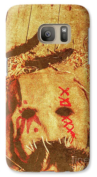 Raven Galaxy S7 Case - The Harvester by Jorgo Photography - Wall Art Gallery