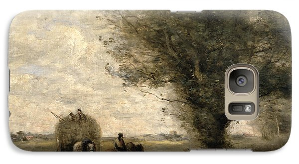 The Haycart Galaxy Case by Jean Baptiste Camille Corot