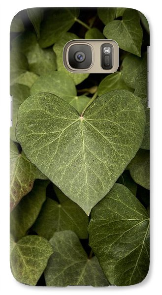 Galaxy Case featuring the photograph The Heart's Truth by Colleen Williams