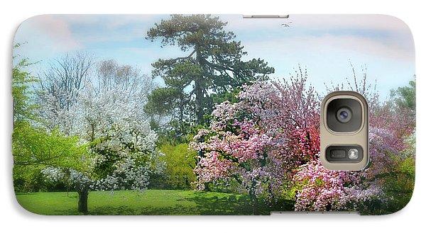 Galaxy Case featuring the photograph The Hidden Garden by Diana Angstadt
