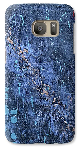 Galaxy Case featuring the painting The Hidden  by Theresa Kennedy DuPay