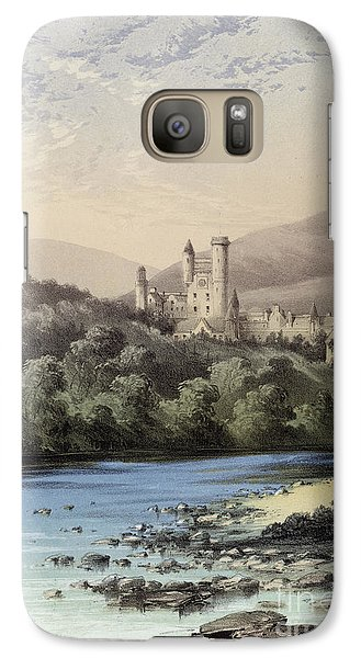 The Highland Home, Balmoral Castle Galaxy S7 Case by English School