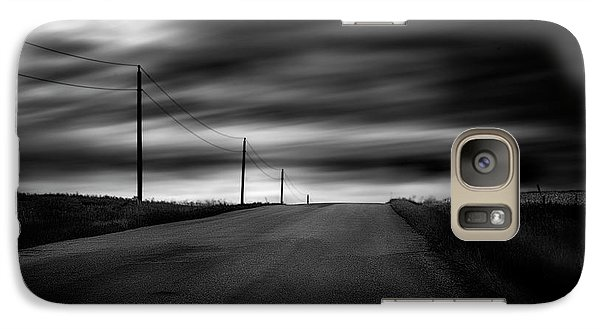 Galaxy Case featuring the photograph The Highway by Dan Jurak