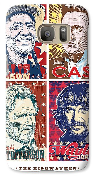 Austin Galaxy S7 Case - The Highwaymen by Jim Zahniser