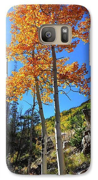 Galaxy Case featuring the photograph The Hillside - Panorama by Shane Bechler