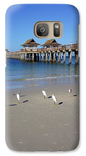 Galaxy Case featuring the photograph The Historic Naples Pier by Robb Stan