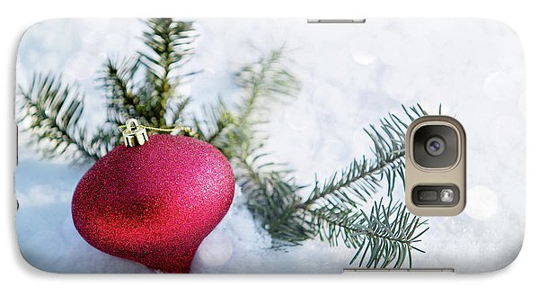 Galaxy Case featuring the photograph The Holidays by Rebecca Cozart
