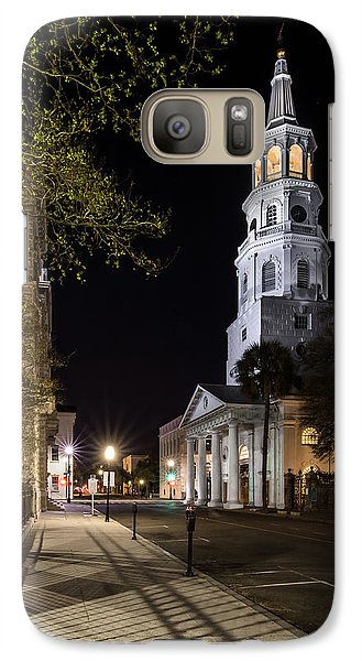 Galaxy Case featuring the photograph St. Michael's Episcopal Church by Carl Amoth