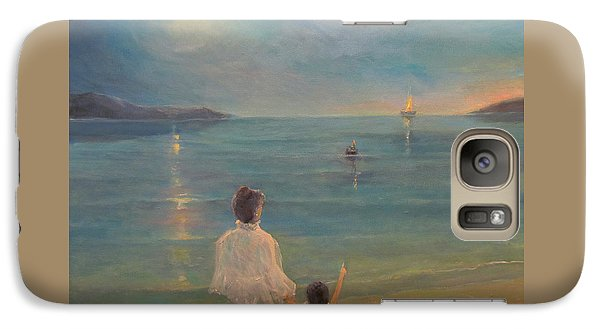 Galaxy Case featuring the painting The Homecoming by Donna Tucker