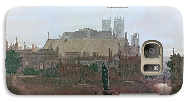 Westminster Abbey Galaxy S7 Case - The Houses Of Parliament by George Fennel Robson