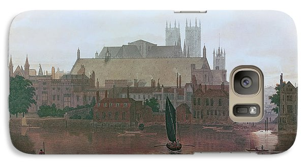The Houses Of Parliament Galaxy S7 Case by George Fennel Robson