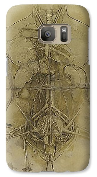 Galaxy Case featuring the painting The Human Organ System by James Christopher Hill