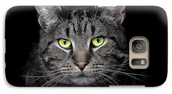Cat Galaxy S7 Case - The Hypnotist by Paul Neville