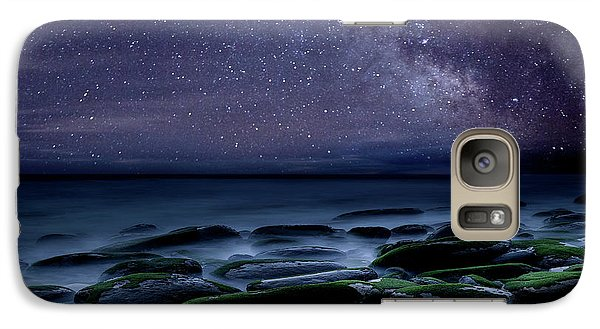 Galaxy Case featuring the photograph The Immensity Of Time by Jorge Maia
