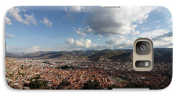 Galaxy Case featuring the photograph The Inca Capital Of Cusco by Aidan Moran