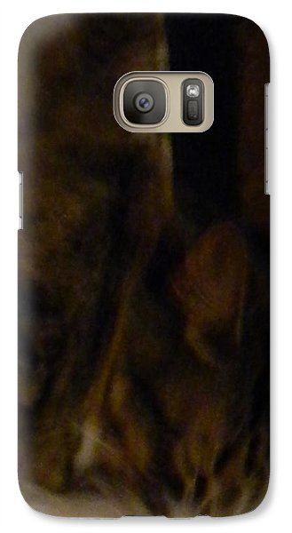 Galaxy Case featuring the photograph The Inn Creeper And His Pet by Christophe Ennis