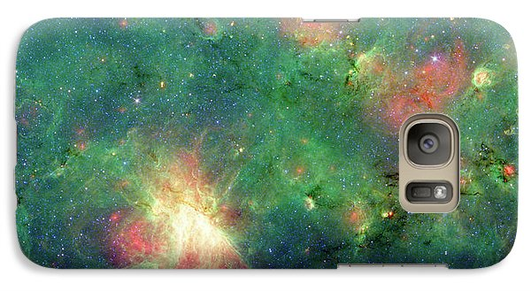 Galaxy Case featuring the photograph The Invisible Dragon by NASA JPL-Caltech