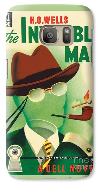 Galaxy Case featuring the painting The Invisible Man by Gerald Gregg